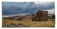 Storm Over Bodie Bath Towel