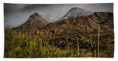 Storm Over Catalinas 15 Hand Towel