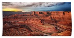 Storm Over Dead Horse Point Bath Towel