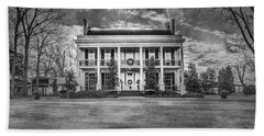 Bath Towel featuring the photograph Storm Over Loyd Hall Plantation by Andy Crawford