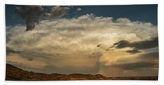 Storm Over New Mexico Panorama Hand Towel