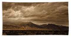 Storm Over The Borrego Valley Hand Towel