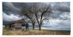 Storm Sky Barn Bath Towel
