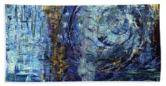 Storm Spirits Hand Towel by Cathy Beharriell