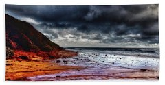 Bath Towel featuring the photograph Stormy Day by Blair Stuart