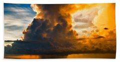 Stormy Florida Keys Hand Towel