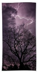 Stormy Night Hand Towel