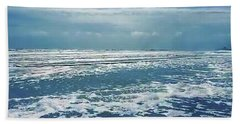 Stormy Sea Bath Towel