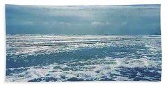 Stormy Sea Hand Towel