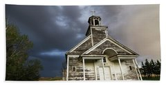 Stormy Sk Church Hand Towel