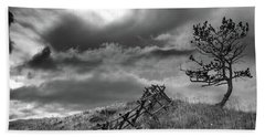 Stormy Sky At The Ranch Bath Towel