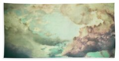 Stormy Sky Hand Towel by AugenWerk Susann Serfezi