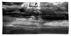 Stormy Sky Bath Towel