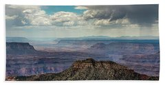 Stormy Sky Past Bridgers Knoll Hand Towel