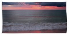 Stormy Sunset Hand Towel
