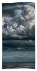 Bath Towel featuring the photograph Stormy Weather by Judy Hall-Folde