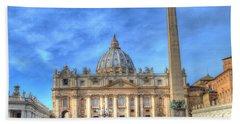 St. Peter's Basilica  Bath Towel