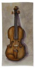 Stradivarius Violin Hand Towel