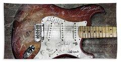 Strat Guitar Fantasy Hand Towel