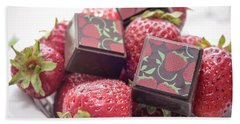 Strawberry Delight Hand Towel