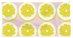 Strawberry Lemonade- Art By Linda Woods Hand Towel