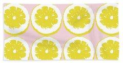 Strawberry Lemonade- Art By Linda Woods Bath Towel