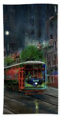 Street Car 905 Bath Towel