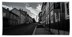 Street In Toyen Bath Towel