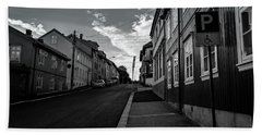 Street In Toyen Bath Towel