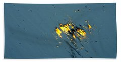 Street Lights Hand Towel by Betty-Anne McDonald