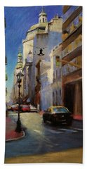 Street Scene In Buenos Aires Bath Towel