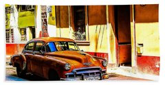 Streets Of Havana Bath Towel