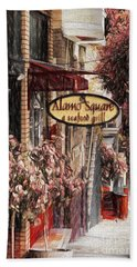 Streets Of San Fran Hand Towel