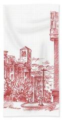 Streets Of San Francisco Chestnut St Bath Towel