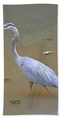 Bath Towel featuring the photograph Strider by Kathy Kelly