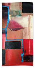 String Theory Abstraction Hand Towel