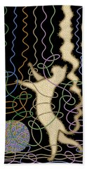 String Theory Hand Towel