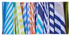 Striped Textiles Hand Towel