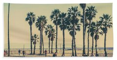 Stroll Down Venice Beach Hand Towel