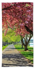 Stroll In The Park Hand Towel
