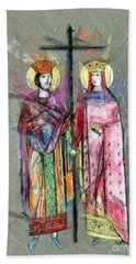 Sts. Constantine And Helen Hand Towel