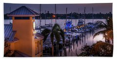 Stuart Harbor Bath Towel