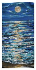 Sturgeon Moon Bath Towel by Linda Olsen