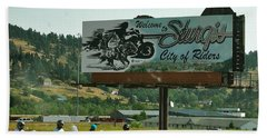 Sturgis City Of Riders Hand Towel
