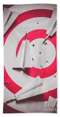 Success And Failures. Business Target Hand Towel
