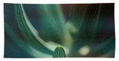 Succulent Emerging Hand Towel by Robert FERD Frank