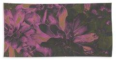 Succulents #3 Bath Towel