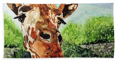 Such A Sweet Face Bath Towel by Tom Riggs