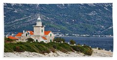 Sucuraj Lighthouse - Croatia Hand Towel
