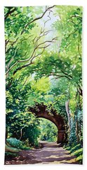 Sudbury Bridge And Trees Bath Towel